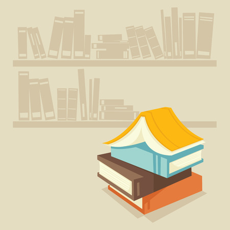 Books Stock Vector - 6720751