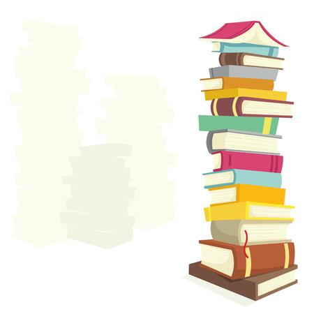 Books Stock Vector - 6767628