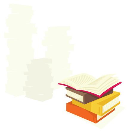 Books Stock Vector - 6767625