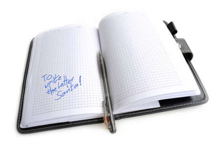inscription: Notebook with an inscription