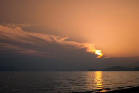 ussuri: Sunset in the Sea of Japan