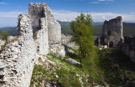 Ruin of castle Gymes - Slovakia