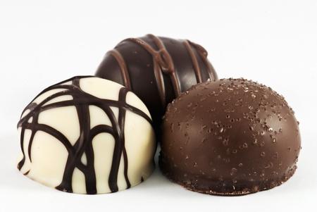 truffe blanche: Passion caché dans le chocolat