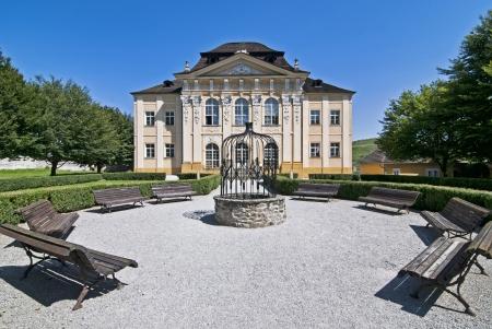 tuinhuis: Markusovce Kasteel in Slowakije - tuinhuis Dardanellen