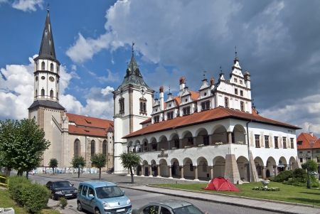 Levoca - Town hall and Saint Jacob s church - Unesco monument