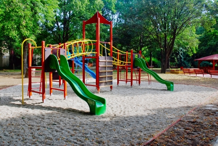 Playground for children, jungle gym