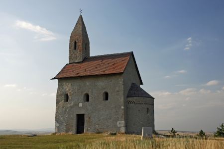 slovak republic: Church in Drazovce, Slovak republic