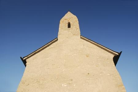 devanture: Fa�ade de l'�glise romane en Slovaquie