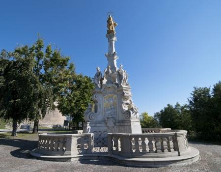 Plague column in Nitra, Slovak republic Stock Photo - 19490034