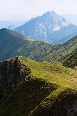 mountainy: Big Rozsutec (Velky Rozsutec), Mala Fatra mountain, Slovak republic.