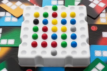 parlour games: Board of a logical indoor game