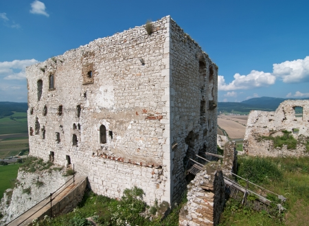 central europe: Spis Castle in Slovakia, Central Europe. Editorial