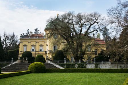 Buchlovice castle is a castle situated about 10 km to the west of Uherské Hradiště, in south-east Moravia, Czech Republic.