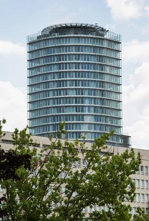 financial sector: Slovak national bank in the capital city Bratislava. Editorial