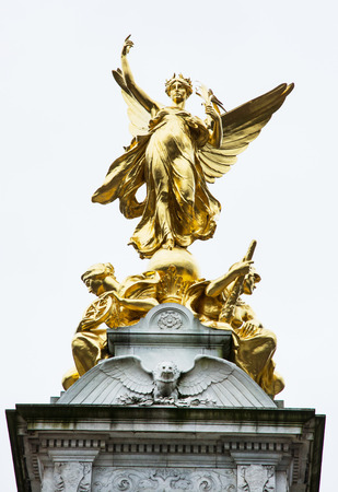 queen victoria: The Victoria memorial is a monument to Queen Victoria, located at the end of The Mall in London, and designed and executed by the sculptor Sir Thomas Brock. Editorial