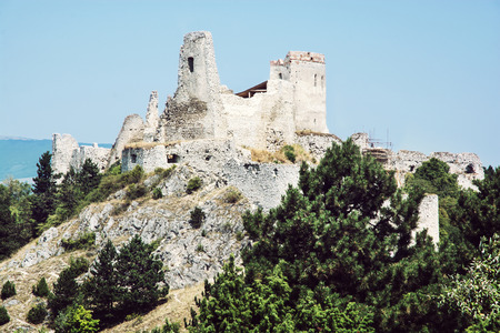 alleged: Cachtice castle, Slovakia. The castle was a residence and later the prison of the Countess Elizabeth Bathory, who is alleged to have been the worlds most prolific female serial killer.