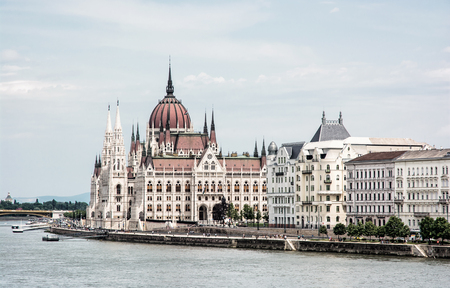 parliament building: Hungarian parliament building - Orszaghaz, also known as the Parliament of Budapest, Hungary. Danube river. House of the nation. Cultural heritage. Travel destination. Architectural theme.