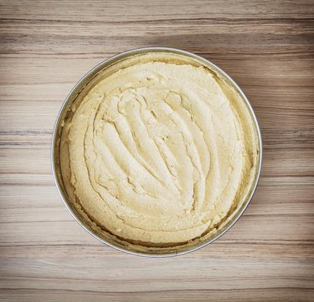 festive food: Sweet flan case with caramel cream. Food theme. Preparing cake. Festive food. Sweet food.