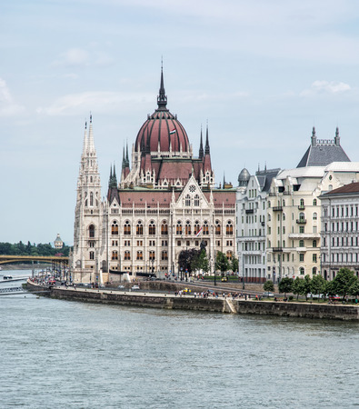 parliament building: Hungarian parliament building, also known as the Parliament of Budapest, Hungary. Danube river. House of the nation. Cultural heritage. Travel destination. Architectural theme. Editorial