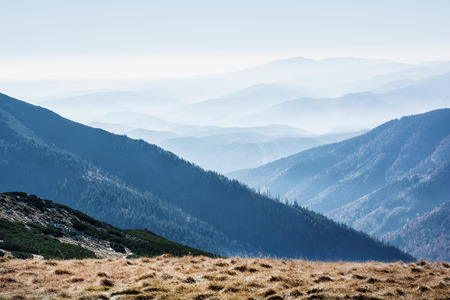 Low Tatras mountains, Slovak republic. Travel destination. Natural scene. Hiking theme. Beauty in nature.