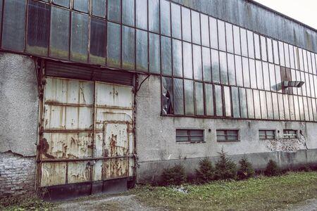 Dubravske bane area, Low Tatras, Slovak republic. Urban exploration.