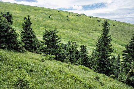 Big Fatra mountains, Slovak republic. Seasonal natural scene. Travel destination. Hiking theme. Imagens