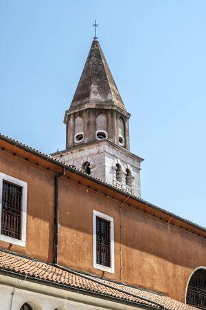Detail of architecture in Zadar, Croatia. Travel destination. Stockfoto