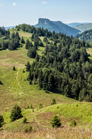 Big Fatra mountains, Slovak republic. Seasonal natural scene. Travel destination. Hiking theme.