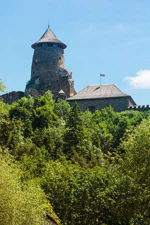 Stara Lubovna castle ruins, Slovak republic, Europe. Travel destination.