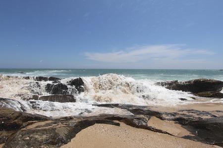 ocean waves: waves on Indian Ocean beach