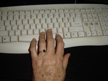 hand grandmother photo