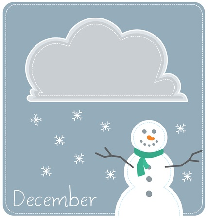 december: December Illustration