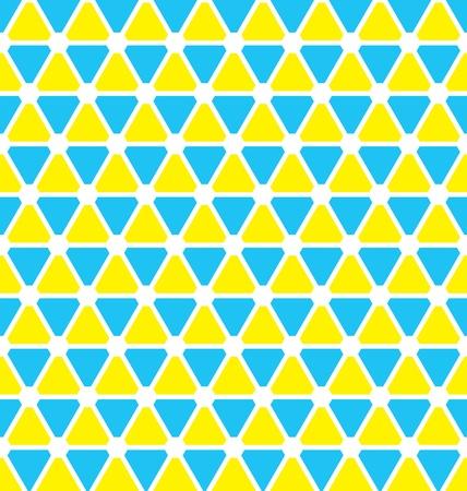 삼각형 패턴 벽지