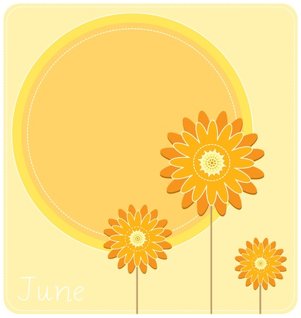 pedaling: June Calendar Background