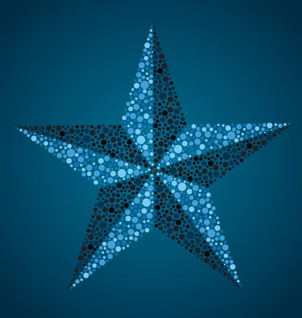 Nautical Star Stock Illustratie