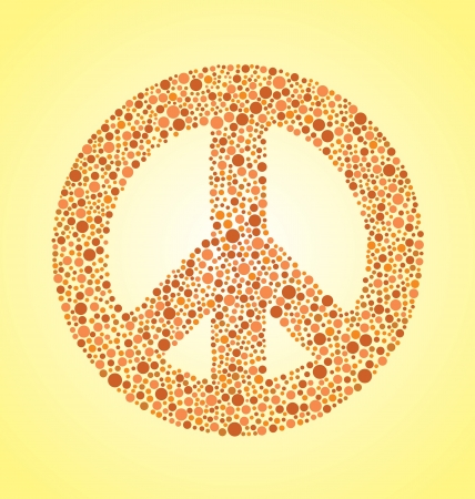 'peace sign': Peace Sign Illustration