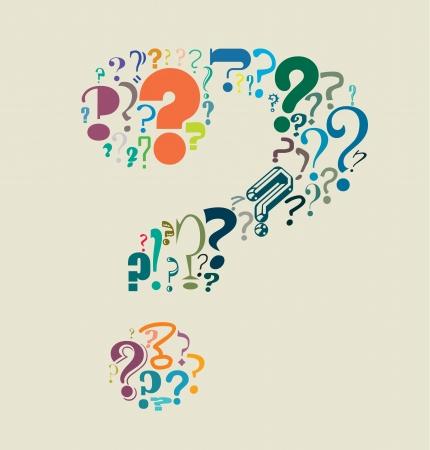 a question mark: Question Mark