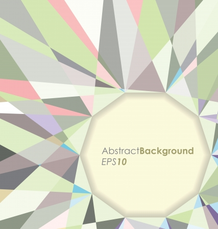 Diamond Abstract Background Illustration