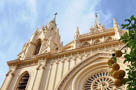 malaga: Spain Malaga Iglesia del Sagrado