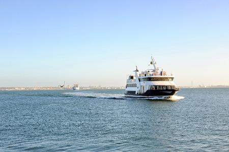 Ferry from Helsingborg to Helsingor