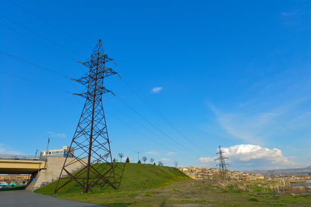 Power Transmission Towers And Lines