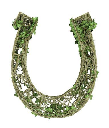 Ivy nature hourseshoe  Stock Photo