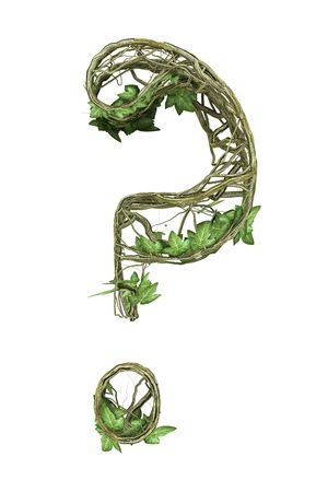 Ivy nature question mark