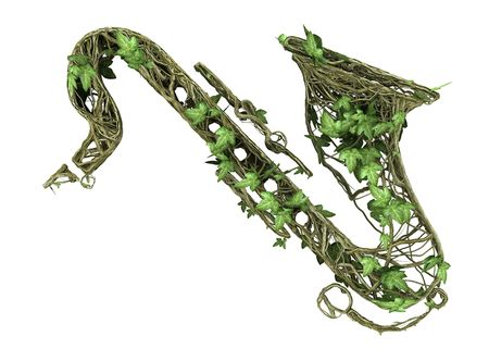 Ivy nature saxophone