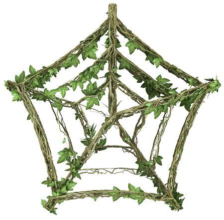 Ivy nature web symbol