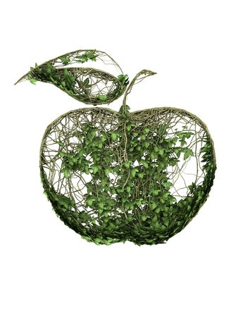 Abstract apple ivy