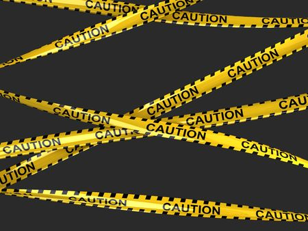hazard tape:  Caution tape