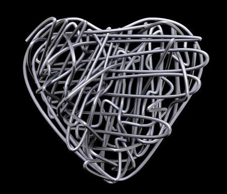 wire heart metal