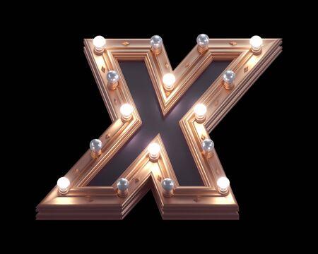 Gold luxury lamp light font.