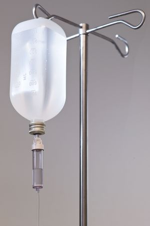 Infusion bottle photo
